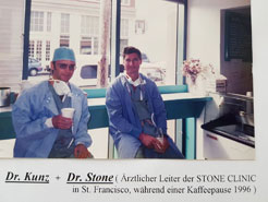 Dr.Kunz in der Stone Clinic, San Francisco